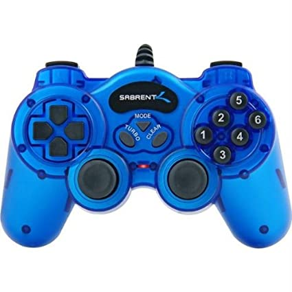 2 controles USB 2.0 PC Game Controller - PC/Mac/Linux