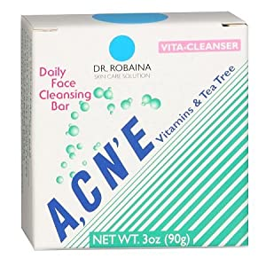 Vita-Cleanser ACNE Dialy Cleansing Bar by Dr. Robaina Skin Care Vitaderm by Dr. Robaina
