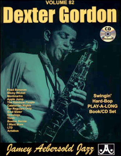 Vol. 82, Dexter Gordon (book & Cd Set) Picture