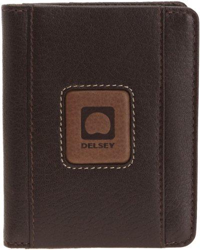 Delsey  Porta carte di credito, Marrone