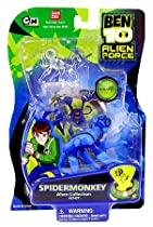 Ben 10 Alien Force SPIDERMONKEY Alien Collection Figure