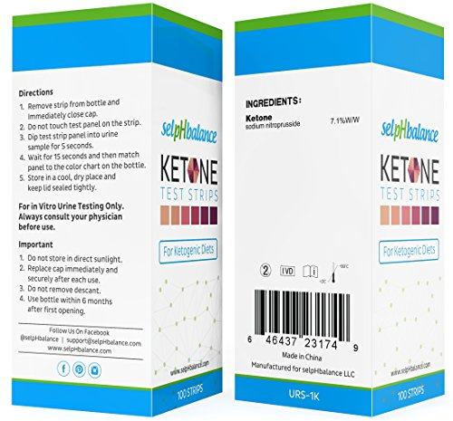 Ketone Strips Urinalysis Test Strips For Use In Ketogenic Diet