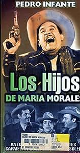 Amazon.com: Los Hijos De Maria Morales [VHS]: Pedro