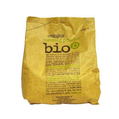 THREE PACKS of Bio-D Washing Powder 1kg