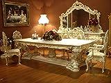 Barocco tavolo da pranzo lavagna da tavolo barocco rococò vp9975–4,0