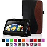 """Fintie Kindle Fire HD 8.9"""" Slim Fit Leather Case with Auto Sleep/Wake for Amazon Kindle Fire HD 8.9 - Dual-Color (will not fit HDX models)"""