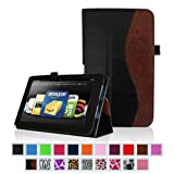 "Fintie Kindle Fire HD 8.9"" Slim Fit Leather Case with Auto Sleep/Wake for Amazon Kindle Fire HD 8.9 - Dual-Color (will not fit HDX models)"