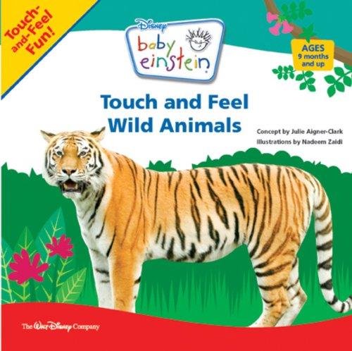 Touch And Feel Wild Animals (Baby Einstein) front-495181