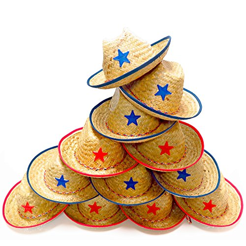 Dozen-Straw-Cowboy-Hats-for-Kids-Makes-Great-Birthday-Party-Hats-for-Boys-Girls
