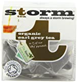 Storm Organic Earl Grey 15 Teabags (Pack of 3, Total 45 Teabags)
