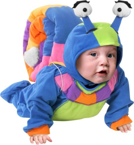 Unique infant baby snail costume ca 010176 for Unique toddler boy halloween costumes