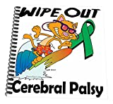 3dRose db_115136_3 Wipe Out Cerebral Palsy Awareness Ribbon Cause Design-Mini Notepad, 4 by 4