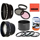Deluxe Lens Kit for Nikon Coolpix P510 Digital Camera - Includes 72mm 3PC Filter Kit + 4PC (+1 +2 +4 +10) Close Up Filte