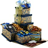 Art of Appreciation Gift Baskets Crowd Pleaser Meat, Cheese and Snacks Gift Tower thumbnail
