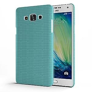 Koveru Designer Protective Back Shell Case Cover for Samsung Galaxy A7 - Green Fencing
