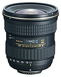 Tokina 11-16mm f/2.8 AT-X116 Pro DX II Digital Zoom Lens for Canon DSLR Camera