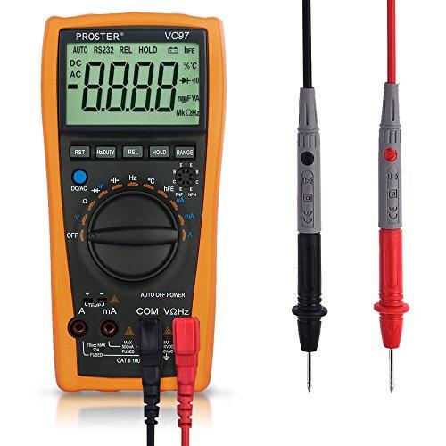 Digital-Multimeter-Proster-3999-3-34-LCD-Multi-Tester-Auto-Range-Ammeter-Voltmeter-Ohmmeter-AC-DC-Ohm-Meter-Sampling-Rate-Up-to-3-Timess-for-Current-Voltage-Resistance-Test