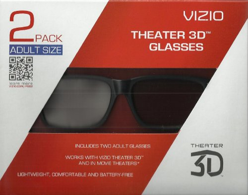 Purchase Vizio XPG302 Theater 3D Glasses - Adult Size
