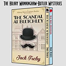 The Hilary Manningham-Butler Mysteries: Omnibus Audiobook by Jack Treby Narrated by Jack Treby, Angela Dawe