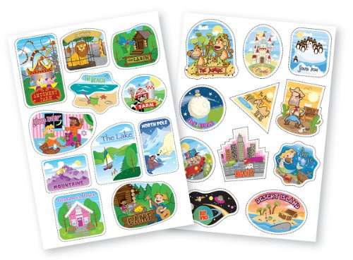 Trunki Sticker Bundle: Destination Stickers - 1