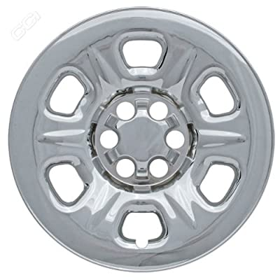 Coast To Coast IWCIMP69X 16 Inch Chrome Wheelskins With 6 Raised Dimple Spokes - Pack Of 4