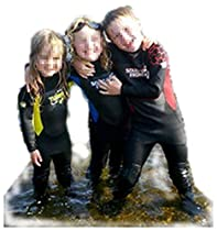 3-4y pink Childrens Full Length Wetsuit by Soles Up Front. 2mm Neoprene. Ideal for UV protection for your child. Take your kids Swimming, Surfing or just great Beach wear. Available in a FULL range of Sizes 1y 2y 3y 4y 5y 6y 7y 8y 9y 10y 11y 12y 13y 14y 15y and colours Red Blue Yellow Pink. Ideal for Holiday or birthday gift for boys or girls