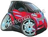Koolart Car Tax Disc Holder Smart Car