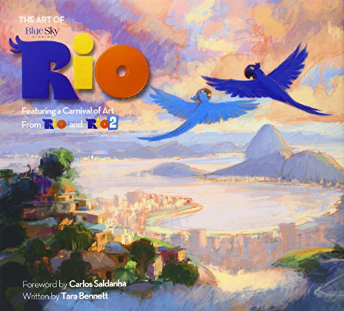 Art Of Rio Carnival Of Art From Rio&Rio HC 02 (Rio & Rio 2 Films)