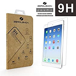 [ ] Zerolemon ' Ultra Glass Armor - 9h Premium Tempered Glass Screen Protector for Apple iPad Air - Protect Your Screen From Drops and Scratches