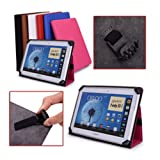 Sell Ideas® Universal Case Cover Stand for Apple Ipad 2/3/4 + Samsung Galaxy Tablets Including Le Pan S 9 inch Tablet + IB Elite 9 inch Android Tablet + Kaser NetsGo YF730-8G 9 inch Tablet + All Tablets Ebooks of Size 9
