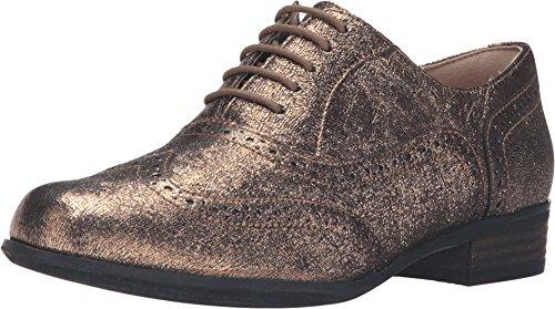 clarks-womens-hamble-oak-gold-metallic-leather-oxford-8-b-m