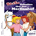 Schatten über dem Martinshof (Bibi und Tina) Hörbuch von Michael Schlimgen Gesprochen von: Sascha Rotermund