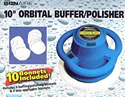 Bonaire 10&quot; Orbital Buffer/polisher with 10 Bonnets Included!