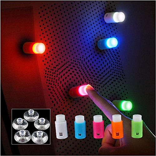 Cosy Cute 5 Pcs Set Dreams Colorful Led Light With Suction Cup