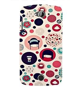 EPICCASE Cute Face Case Mobile Back Case Cover For Acer Liquid Z530 (Designer Case)