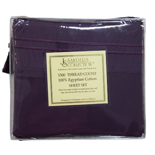 King, Plum Purple, 1500 Thread Count, High Quality Microfiber, Deep Pockets Wrinkle Free, Ultra Soft And Cozy . front-398290