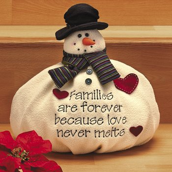 Softy the Snowman Christmas Snow Winter Family Decor