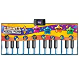 Best Choice Products Kids Big Keyboard Piano Fun Dance Playmat with 8 Instruments & 4 Play Modes, Multicolor