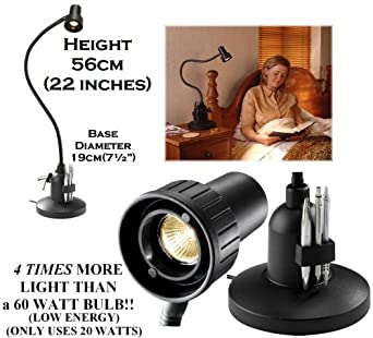 Serious Readers Classic Alex Table Book Light In Black