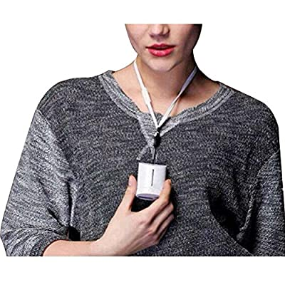 Home Mini USB Ionizer Oxygen Negative Ions Air Cleaner Halter Style Necklace Purifier Air Refresh Office Air Fresher
