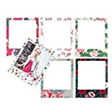Magnetic Floral Photo Frame Set||RLCTB