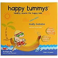 Happy Tummys - i wanna wanna Malty Banana Snack Bars - 4 bars x 30 G