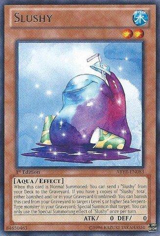 Yu-Gi-Oh! - Slushy (ABYR-EN083) - Abyss Rising - Unlimited Edition - Rare by Yu-Gi-Oh! (Yugioh Slushy compare prices)