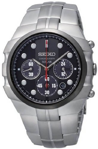 Seiko Solar Men's Quartz Watch SSC089