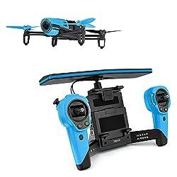 Parrot Bebop Drone 1400万画素 魚眼レンズ カメラ付 クワッドコプター スカイコントローラーセット (ブルー)