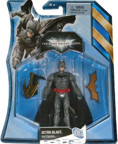 Batman The Dark Knight Rises 4 Inch Action Figure Ultra Blast Batman by Batman