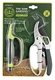 Spear & Jackson Kew Gardens Razorsharp CUTTINGSET1K Ratchet Anvil Secateurs and Sharpener Set