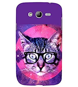 printtech Cat Pussy Back Case Cover for Samsung Galaxy Grand i9080:::Samsung Galaxy Grand i9082