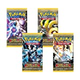 Pokemon Next Destinies Black & White TCG Booster Cards - Four (4) Packs