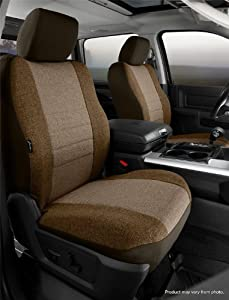 Fia OE37-26 TAUPE Custom Fit Front Seat Cover Bucket Seats - Tweed, (Taupe)